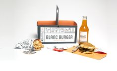 Blanc Burger / sydney goldstein