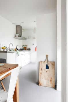 Marmoleum (Selected by Piet Boon) Linoleum - grijs #interieur #vloer #Marmoleum