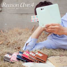 Reason Ave.4 Flip Cover (Galaxy Note 2)HappyMori specializes in quality cell phone cases designed at the design studio in South Korea. You
