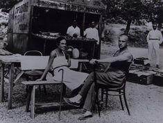 Маяковский и Лиля Брик в Ялте, 1926 г