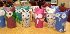 ROCKET WRITES A STORY: LANGUAGE ARTS [Vocabulary] | Create owl paper rolls for new vocabulary words