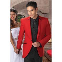 2017 Classic black 3 pieces Groom smoking Red Tuxedo terno masculino Wedding Men Suit Bridegroom mens suits ( jacket+Pants+vest)