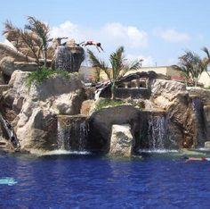 Mazatlan, Mexico.  The pool at El Sid was amazing!