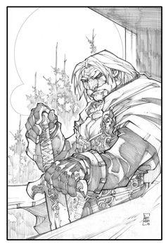 Warcraft-Genn Greymane by LudoLullabi.deviantart.com on @deviantART