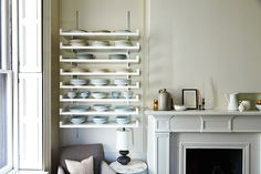 Mantel and Shelves 4468 by Photosfood52, via Flickr