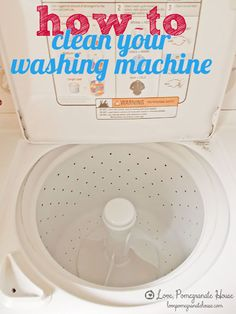 Deep Cleaning Hacks for the Home | How to Clean Your Washing Machine | DIY Projects & Crafts by DIY JOY