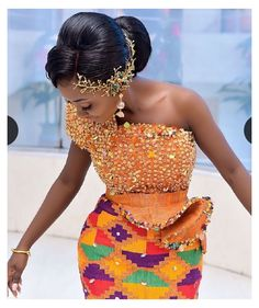 African Dresses For Kids, Latest African Fashion Dresses, African Dresses For Women, African Print Fashion, African Print Dresses, Women's Fashion Dresses, Ghana Traditional Wedding, African Traditional Wedding Dress, African Wedding Attire