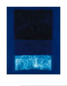 """Silence is so accurate."" Mark Rothko, one of my favorites."