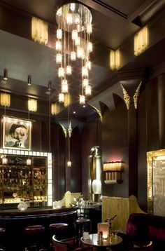 The bar that's perfect for drinks à deux  Intimacy and old-fashioned glamour in a discreet London bar
