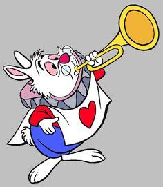The White Rabbit Clip Art Images   Disney Clip Art Galore