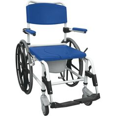 Aluminum Rehab Shower Commode Chair | Drive Medical