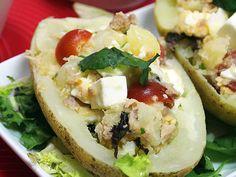 Ensaladas - Patata Ensalada de patata y queso