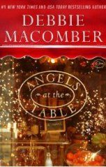 ANGELS AT THE TABLE: In Debbie Macomber's latest Angelic Intervention series, angels Shirley, Goodness, and Mercy have a new assignment: to tend to apprentice angel Will. On New Year's Eve, Will spots two lonely souls in New York's Times Square and shoves them together. But though they are just right for each other (she's a chef, he's a food critic), they are separated in the crowd, and the four angels decide to work a miracle the following holiday season by reuniting them. #debbiemacomber