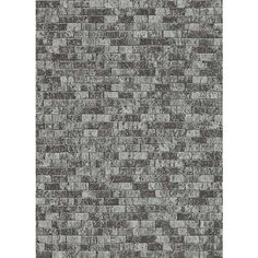 Sample Brynn Faux Brick Wallpaper in Black and Silver design by BD... ($10) ❤ liked on Polyvore featuring home, home decor, wallpaper, wallpaper samples, silver home accessories, silver wallpaper, silver home decor, black home decor and black silver wallpaper