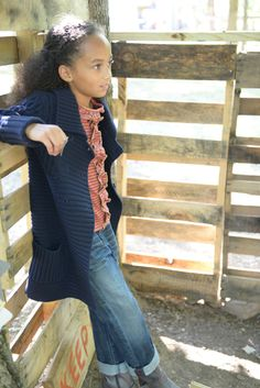 Fall Girls :: Sweaters - Outerwear :: Sweater Coat $79.50 by Olive Juice