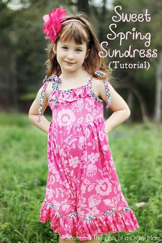 Sweet Spring Sundress Tutorial -