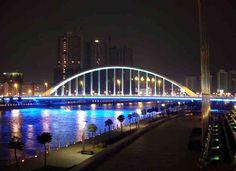 china--ningbo--night--bridge