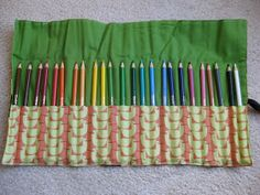 Not to toot my own horn, or anything... Well, actually, I guess I am. But look how cute these are!    After I made a crayon roll for my ni...