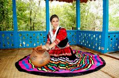 Iranian Gilaki traditional clothing