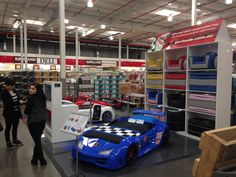 Costco Pop Up Stall