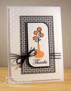 Stampin-Time: Thanks - A Freshly Made Sketch