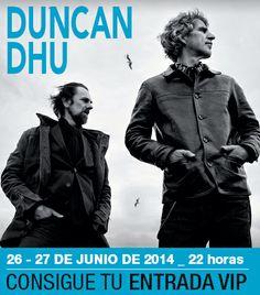 Gana una entrada doble para el concierto de Duncan Dhu
