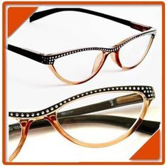 ideas cats eye look Cool Glasses, New Glasses, Cat Eye Glasses, Glasses Frames, Fashion Eye Glasses, Eye Jewelry, Black Women Fashion, Womens Glasses, Eyeglasses For Women