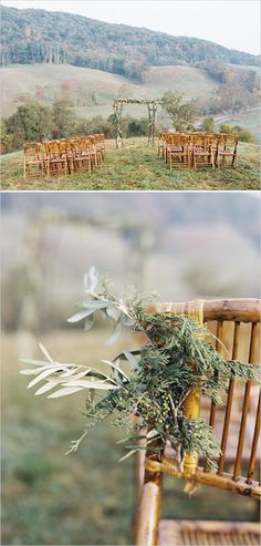 Whimsical yet romantic wedding ideas. Captured by: Elisa Bricker #weddingchicks http://www.weddingchicks.com/2014/08/20/whimsical-natural-virginia-wedding/