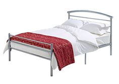 The Brennington Contract Mesh bed is a perfect new addition to our range of super strong mesh bases. It is superb value for money. It features a 50mm top rail and 1.5mm contract side rails. It also has an extra support leg under the side rails.  Individual Weight Limit: 23 Stone / 146 kg, Total Weight Limit (Based on 2 People): 40 Stone / 254 kg.