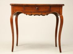Antique French Louis XV Style Ladies Writing Table or Small Desk now in stock @ Old Plank Writing Table, French Provincial, Furniture Styles, French Antiques, End Tables, Antique Furniture, Plank, Entryway Tables, Family Room