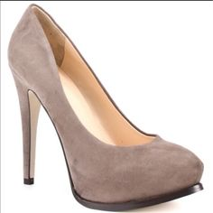 Guess Taupe High Heels