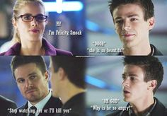 Arrow Olicity #jealous