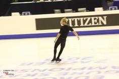 Evgeni Plushenko, during practice, at the 2013 Europeans in Zagreb