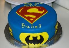 Superman By MrsFoltz on CakeCentral.com