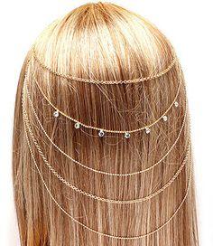 renaissance style hair piece