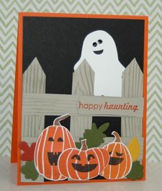 Stampin' Up! Fall Fest. A collection of Halloween cards on my blog today!