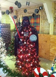 Darth Vader tree~ just awesome~