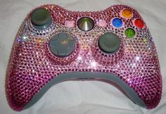 Pink Crystal XBox Controller