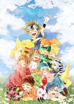 Butter-Fly by こな / Day Digimon Wallpaper, Manga Anime, Anime Art, Gatomon, Digimon Adventure 02, Digimon Tamers, Digimon Digital Monsters, Puzzle Box, Japan Art