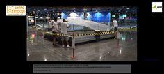 Restauración maqueta aeropuerto madrid barajas grupo axfito restauración de maquetas maquetas en madrid maquetistas maquetas profesionales