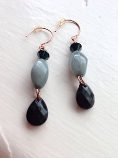 duck egg blue with emerald green! love tht combination!