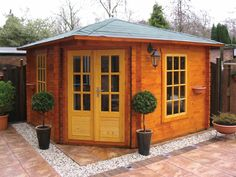 log cabins | ... > Log Cabins & Garden Offices > 40-45mm Wall Thickness Log Cabins