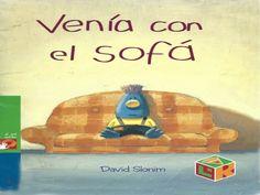 VENÍA CON EL SOFÁ Bedtime Stories, Childrens Books, Storytelling, Spanish, Dani, Homeschooling, Watches, Ideas, Short Stories