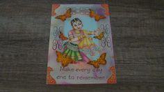 India. Stamped and collage cards. Carla. Cards: My own cards.