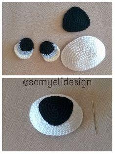 How To Crochet an Amigurumi Rabbit Crochet Eyes, Crochet Baby Hats, Crochet Dolls, Free Crochet, Crochet Dog Patterns, Amigurumi Patterns, Diy Crafts Crochet, Crochet Projects, Crochet Turtle
