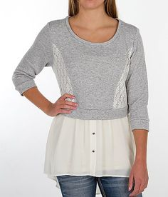 Daytrip Pieced French Terry Top