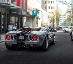 Jay Leno Shows Off The Latest Addition To His Garage A Black With Red Striped  Ford Gt Celebrities Pinterest Ford Gt