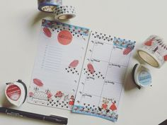 This was this week before writing my appointments into it #lovered #blackwhite #hearts #aimezlestyle #planner #plannerlove #planneraddict #plannergirl #plannercommunity #washitapes #decoration #maskingtape #stationery #katespadeplanner #wellesley #katespade #riflepaperco #filofax #kikkik #weeklysetup by feenstaub_verzaubert