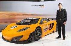 Álvaro Parente - McLaren MP4 12C GT3 presentation