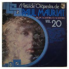 A Grande Orquestra de Paul Mauriat - From Souvenirs to Souvenis - Vol. 20 é na vinil records, sua loja de vinil online.